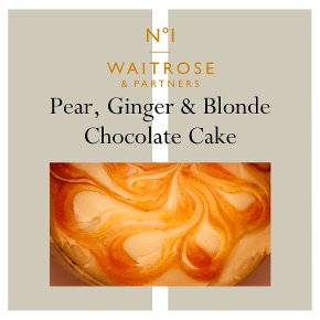 No.1 Pear, Ginger & Blond White Chocolate Cake