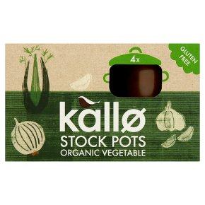 Kallo Vegetable Stock Pots