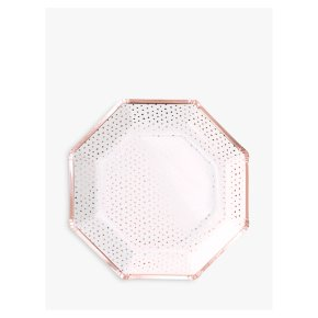 Ginger Ray Spotty Paper Plates RG
