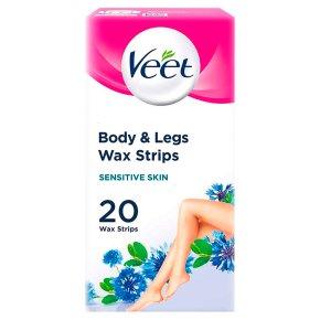 Veet wax strips sensitive skin