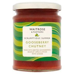 Waitrose Gooseberry Chutney