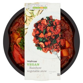 Waitrose Vegan Rainbow Vegetable Stew