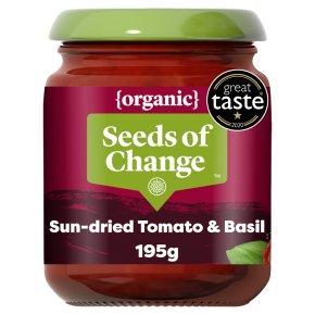 Seeds of Change organic sundried tomato & basil stir through sauce