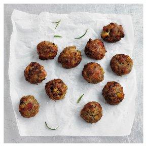 12 Chestnut & Bacon Stuffing Balls
