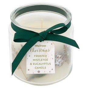 Waitrose Mistletoe Jar Candle
