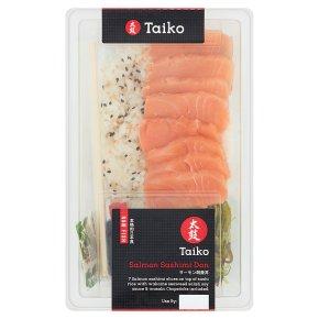 Taiko Don Salmon Sashimi Don