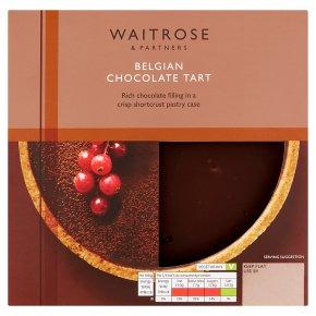 Waitrose chocolate tart
