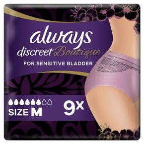 Always Discreet Boutique Pants 6+ M