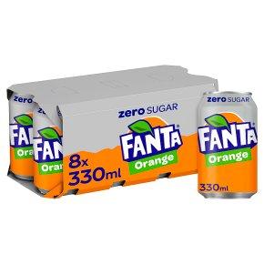Fanta Zero Orange