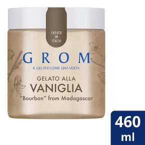 Grom Gelato Vaniglia Ice Cream