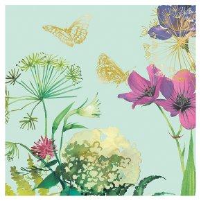 Botanical Bloom Blank Card