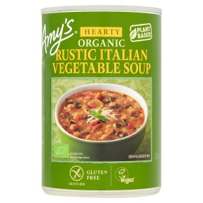 Amy's Kitchen hearty rustic Italian vegetable soup