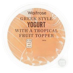 GOOD TO GO Greek Style Yogurt with Fruit Topper
