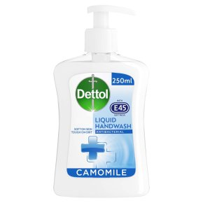 Dettol with E45 Camomile