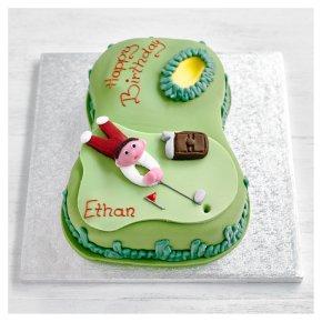 Golf Celebration Cake | Waitrose & Partners