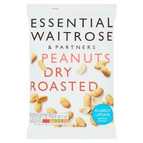 essential Waitrose large peanuts dry roasted
