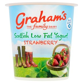 Graham's Scottish Low Fat Strawberry Yogurt