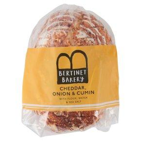 The Bertinet Bakery Cheddar, Onion & Cumin Sliced