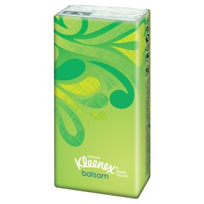Kleenex Balsam Tissues, pocket pack
