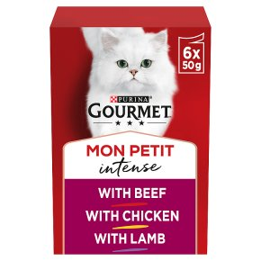 Gourmet Mon Petit Cat Food Pouches Meat