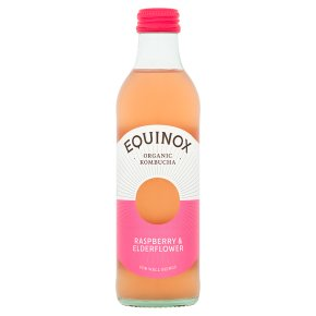 Equinox Kombucha Raspberry & Elderflower