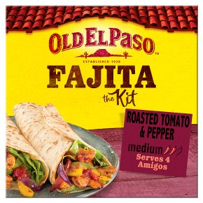 Old El Paso Roasted Tomato & Pepper Fajita Kit