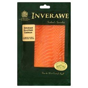 Inverawe sliced Scottish smoked salmon