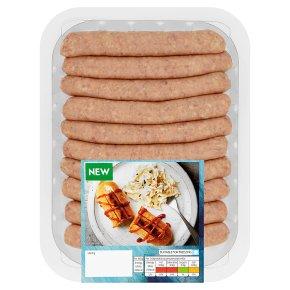 Waitrose 10 Chipolata Hot Dogs