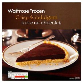 Waitrose Frozen tarte au chocolat