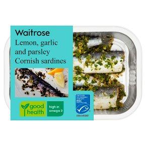 Waitrose Lemon, Garlic & Parsley Sardines