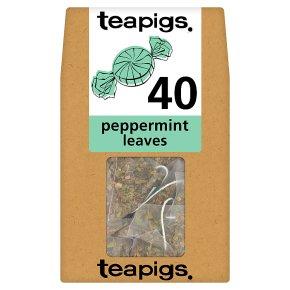 Teapigs Peppermint Leaves 40 Tea Temples