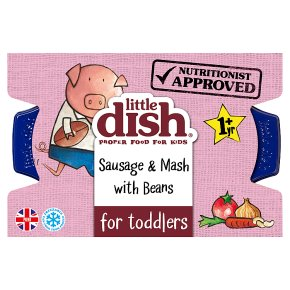 Little Dish Sausage & Beans Pie