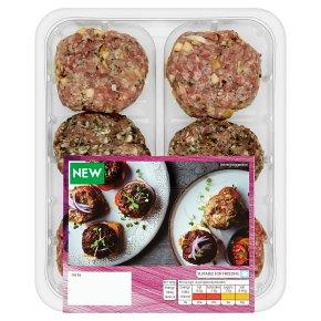 Waitrose 6 Assorted Mini Burgers