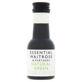 essential Waitrose Green Food Colour