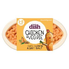 Little Dish 1 yr+ Chicken Pie