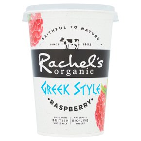 Rachel's Greek Style Raspberry Yogurt
