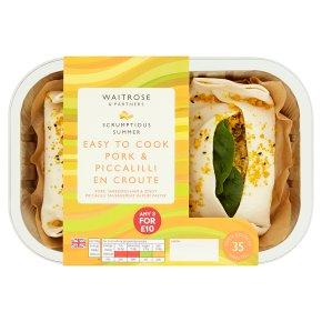 Waitrose Pork & Piccalilli En Croute