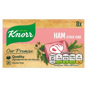 Knorr 8 pack ham stock cubes