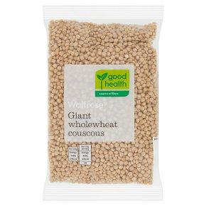Waitrose LOVE life Giant Wholewheat Couscous