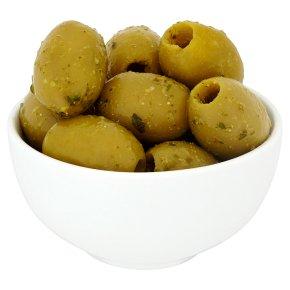 Pesto Queen Green Olives