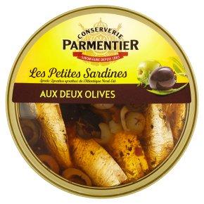 Parmentier Petites Sardines Olives in Olive Oil