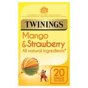 Twinings mango & strawberry 20 tea bags