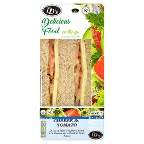 DDs Cheese & Tomato Sandwich