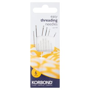 Korbond Needles Easy Threading 4/8