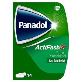 Panadol compack actifast tablets