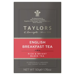 Taylors English Breakfast Tea 20s