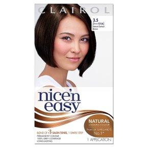 Clairol nice'n easy darkest brown121