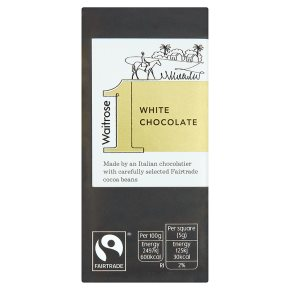 Waitrose 1 white chocolate