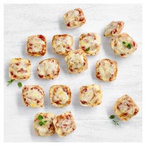 Mini Cheese & Tomato Panini Pizzas