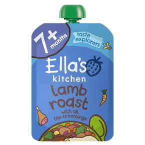 Ella's Kitchen Organic lovely lamb roast dinner with all the trimmings - stage 2 baby food